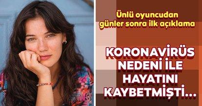 Corona virüs nedeni ile anneannesini kaybeden oyuncu Pınar Deniz'den ilk açıklama! Pınar Deniz: Ailemin geri kalanı...