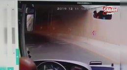 Ankara'da kahraman şoför yaralı yavru kediyi böyle kurtardı