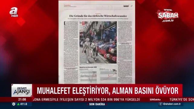 Alman basınında Türkiye övgüsü! Türkiye'nin küresel çaptaki ekonomik başarısı ses getirdi | Video