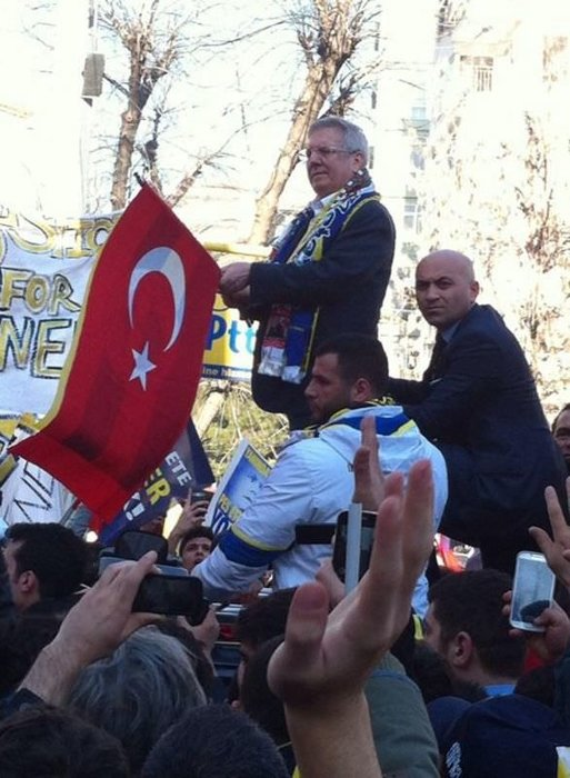 Fenerbahçelilerin Adalet Yürüyüşü