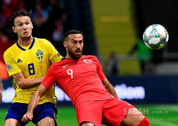 İsveç - Türkiye maçından kareler