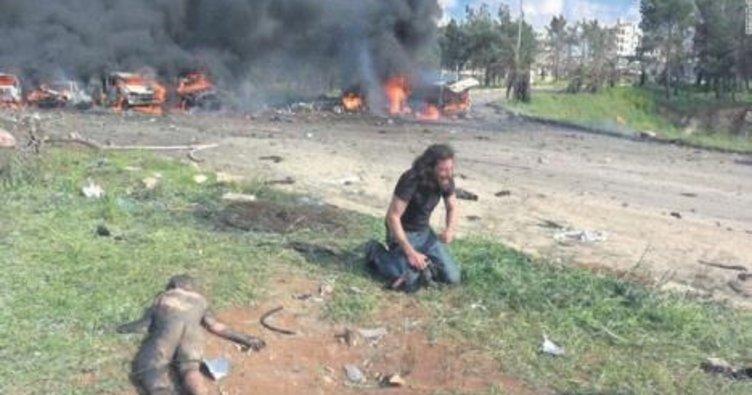 Suriyeli kameraman simge oldu