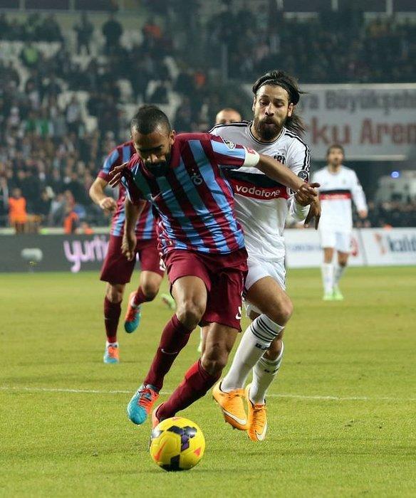 Beşiktaş - Trabzonspor maçının fotoğrafları