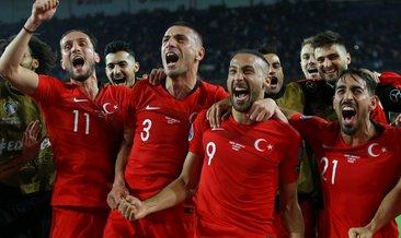 A Milli Futbol Takımı kafilesi Fransa'ya gitti