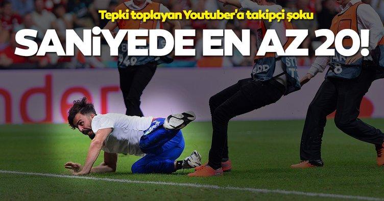 Tepki toplayan Youtuber Fester Abdü'ye(delimine) takipçi şoku Saniyede en az 20 abone kaybediyor