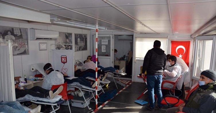 Kan Dostum kampanyasında 460 ünite kan bağışı yapıldı
