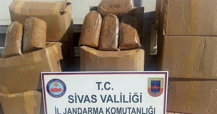 4 kilo kaçak tütüne 45 bin 570  TL ceza kesildi