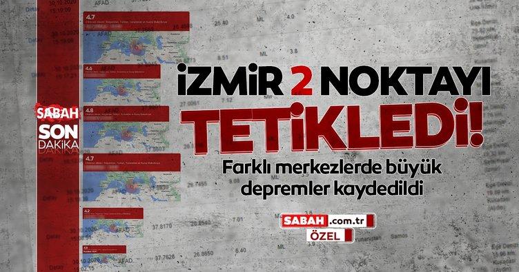 Son dakika haberi... İzmir, 2 noktayı tetikledi! Artçı depremler arasında merkezi farklı 2 kritik deprem oldu