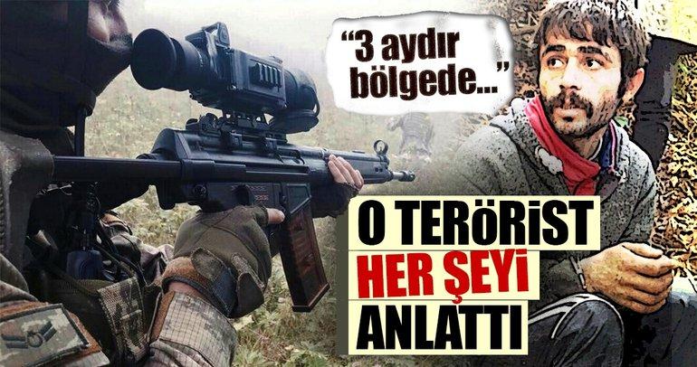Son dakika haberi! Giresun'da yakalanan PKK'lı terörist: 3 aydır bölgede nefes alamıyoruz