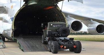 Milli Savunma Bakanlığı, S-400 intikalinden fotoğraflar paylaştı