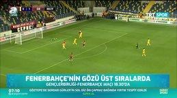 Fenerbahçe'nin gözü üst sıralarda