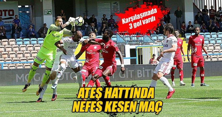 Antalyaspor, Karabük'ten 3 puanla dönüyor