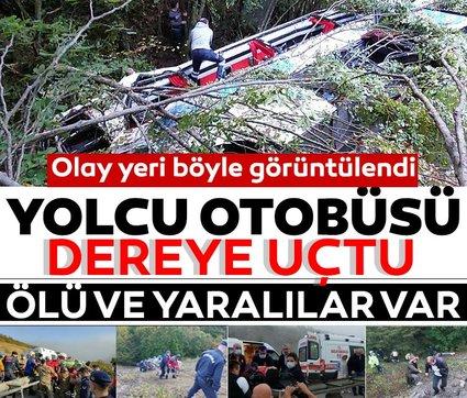 Son dakika haberi: Samsun'da yolcu otobüsü kaza yaptı! Ölü ve yaralılar var