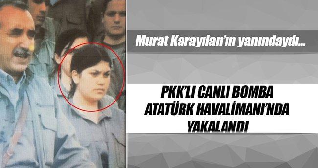 PKK'lı canlı bomba havalimanında yakalandı