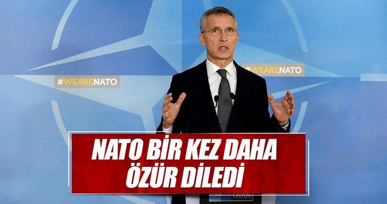 NATO bir kez daha özür diledi