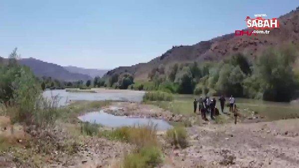 Kayseri'de Kızılırmak'a giren baba kayboldu, 2 çocuğu boğuldu | Video