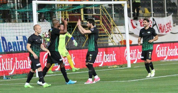 Akhisar'dan gol yağmuru: 6-0