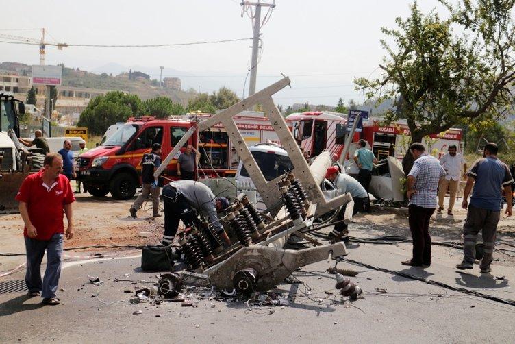 İzmit'te korkunç kaza!