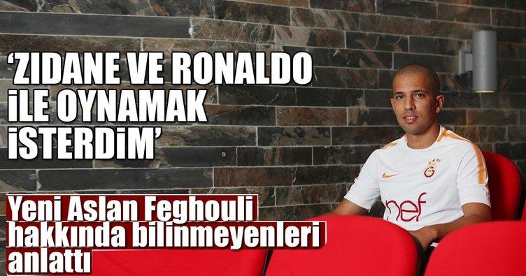 Feghouli: Zidane ve Ronaldo ile oynamak isterdim
