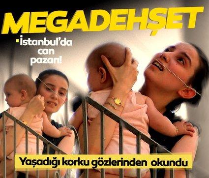 İstanbul'da nefes kesen anlar: Yaşadığı korku gözlerinden okundu!