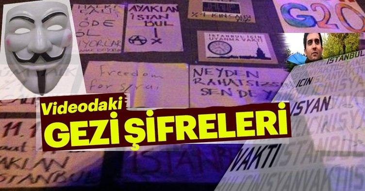 Videodaki Gezi şifreleri