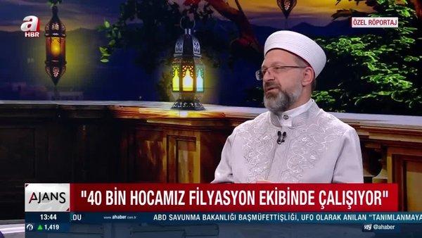 Diyanet İşleri Başkanı Erbaş: Ebru Erman'ı arayarak üzüntümü paylaştım   Video