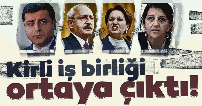 Son dakika: CHP HDP İYİ Parti arasındaki kirli iş birliği ortaya çıktı! O açıklama ortalığı karıştırdı...