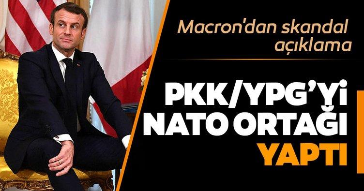 Macron'dan skandal PKK/YPG açıklaması