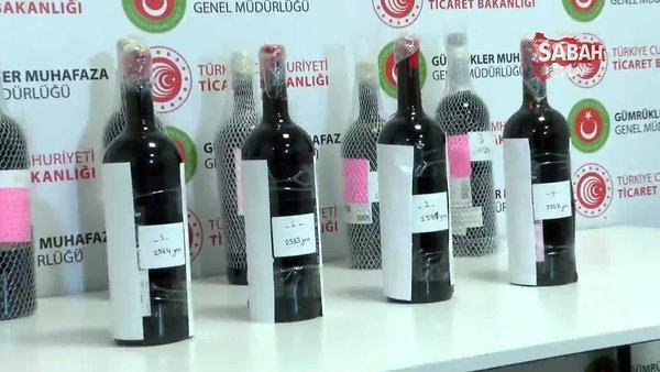 İstanbul Havalimanı'nda 17 kilogram sıvı kokain ele geçirildi | Video