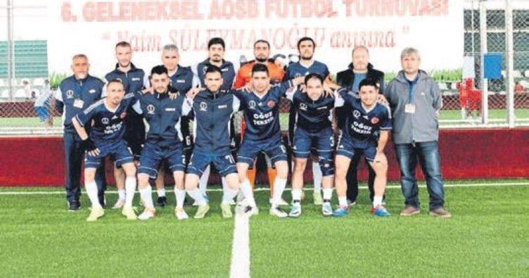 AOSB'de futbol heyecanı sürüyor