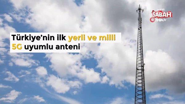 ASELSAN ve Turkcell'den ilk yerli ve milli 5G uyumlu mobil iletişim anteni