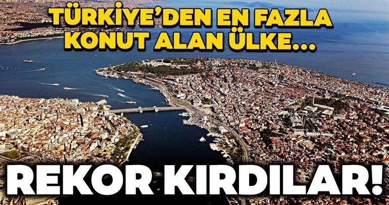 Türkiye'den en çok konut alanlar bakın hangi ülkenin vatandaşları!