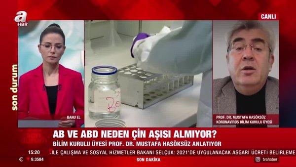 Koronavirüs Bilim Kurulu Üyesi Prof. Dr. Mustafa Hasöksüz'den Covid-19 aşısı hakkında önemli açıklamalar | Video