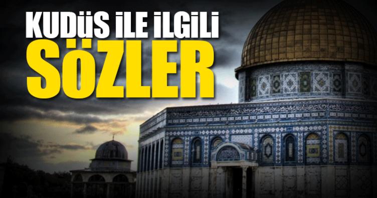 Kudüs ile ilgili sözler ve paylaşımlar - (Kudüs resimli mesajları ve sözleri)