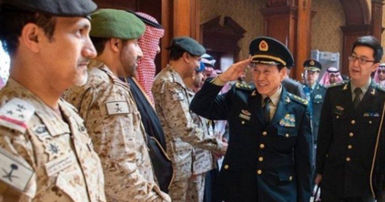 Suudi Arabistan ve Çin'den askeri iş birliğini güçlendirme kararı