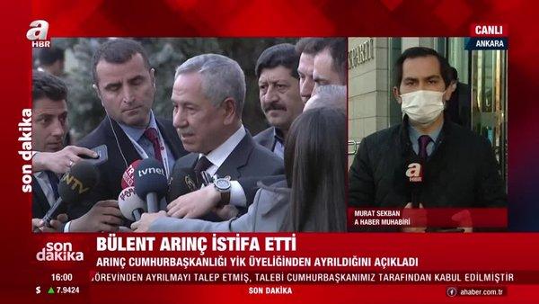 SON DAKİKA! Bülent Arınç Cumhurbaşkanlığı YİK Üyeliğinden istifa etti | Video