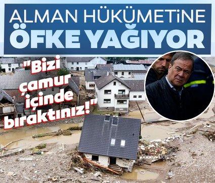 Almanya'daki sel felaketinde hükümete büyük öfke: Beceriksizsiniz!