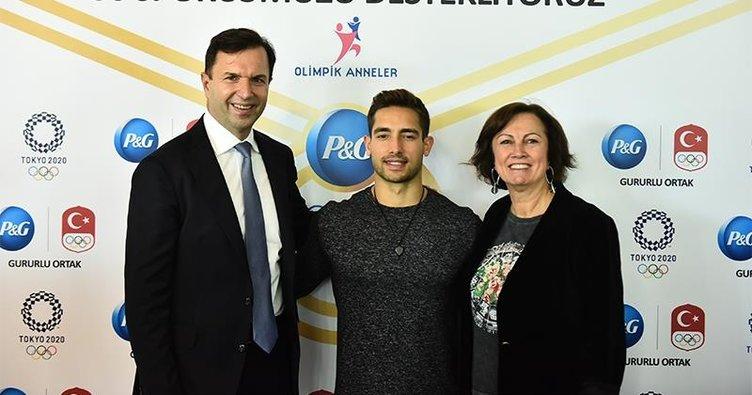 İbrahim Çolak'a P&G'den destek
