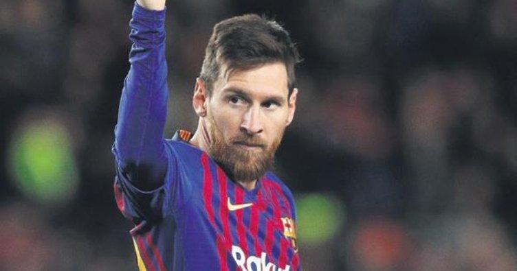 Lionel Messi tarih yazdı