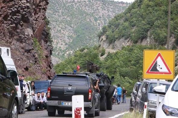 Kemal Kılıçdaroğlu'na Artvin'de saldırıdan ilk kareler