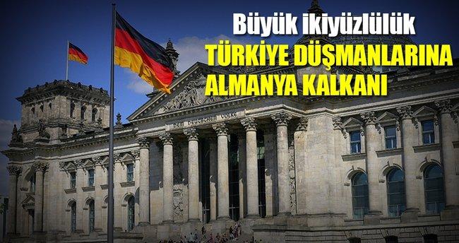 Türkiye düşmanlarına Almanya kalkanı