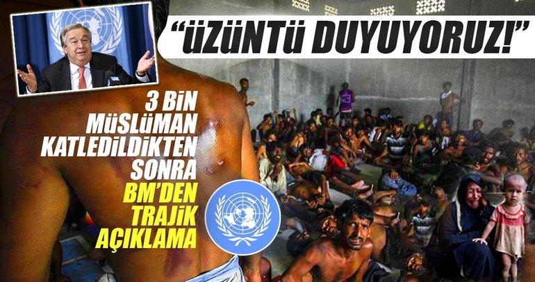 BM'den trajik Myanmar açıklaması