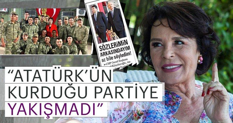 Hülya Koçyiğit'ten ünlülerin Hatay ziyaretini eleştiren CHP lideri Kemal Kılıçdaroğlu'na yanıt