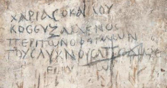 İzmir'de 2 bin yıllık 'çengel bulmaca