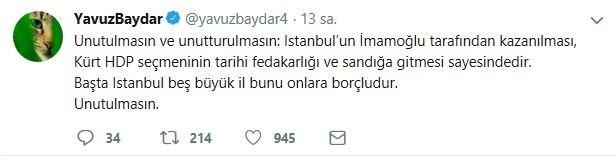 Tepki çeken Ekrem İmamoğlu kararına en çok FETÖ ve PKK sevindi!