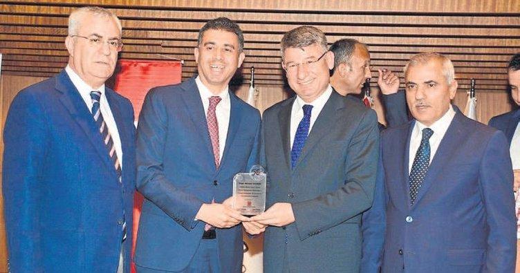 Büyüme ve ihracat Onur Ödülü getirdi