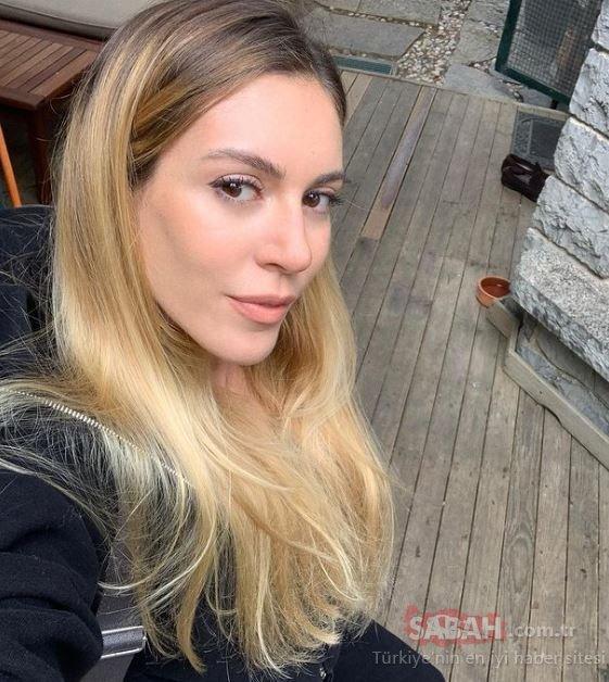 Ünlü oyuncu Sinem Kobal tatil sezonunu açtı! Minili pozu ile Sinem Kobal güzelliğini sergiledi!