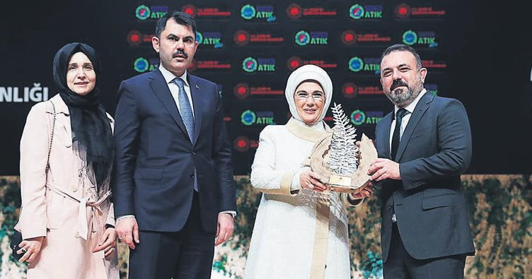 Sincan Belediyesi'ne 'Sıfır Atık' ödülü