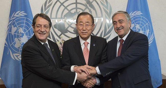 BM'de Kıbrıs için üçlü zirve!