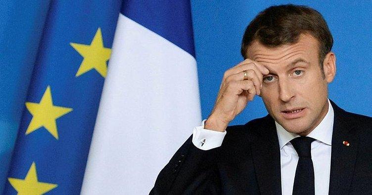 Macron yerlerde